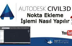 autocad-civil-nokta-ekleme