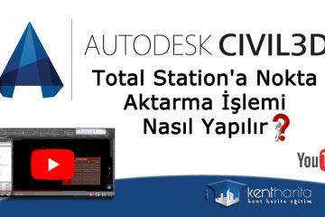 autocad-civil-total-station-nokta-aktarma